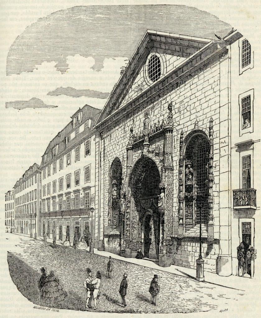 Igreja Da Conceicao Velha Em Lisboa
