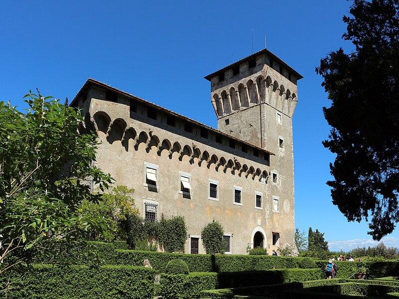 Una delle più importanti Ville Medicee: Villa del Trebbio, in provincia di Firenze