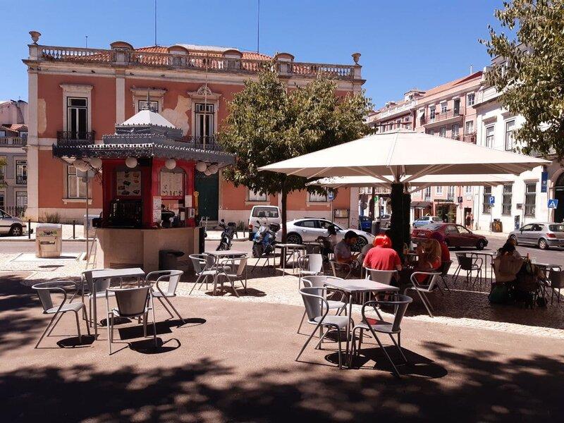 Chiosco di piazza di Príncipe Real