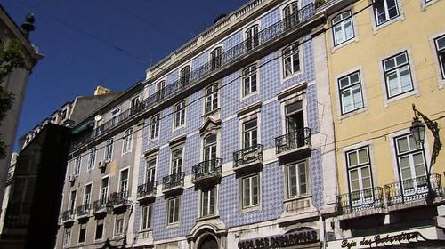 Facciata Abitazioni Lisbona