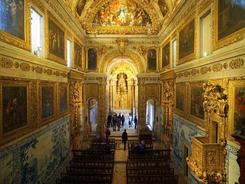 Cappella al Museo Nazionale degli Azulejos, a Lisbona