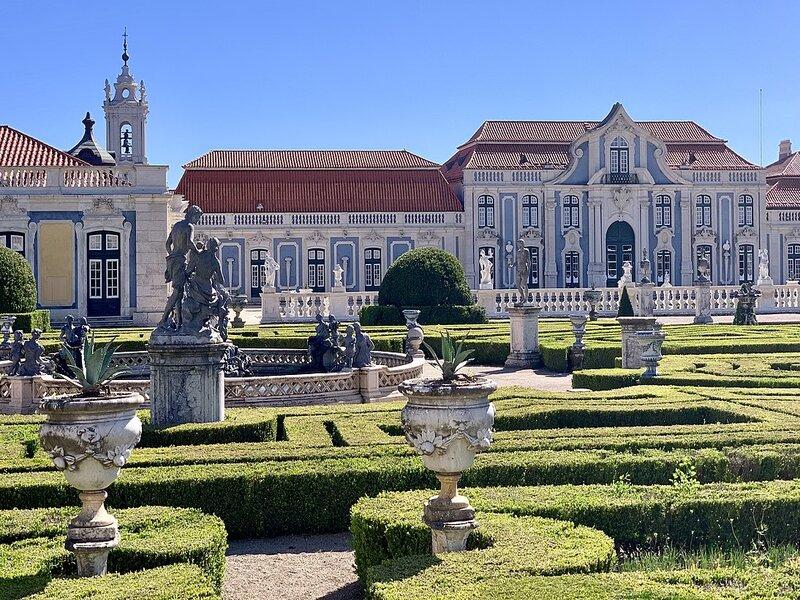 Giardino Del Palazzo Di Queluz