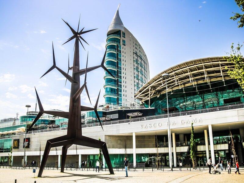 Il Centro Commerciale Vasco da Gama, in una zona di Lisbona ricostruita in occasione di Expo '98