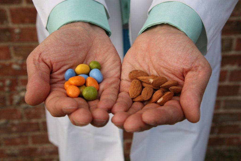 Amêndoas doces, confetti tipici del periodo pasquale