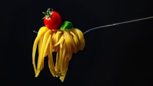 Pasta Italiana Spagetti E Pomodoro