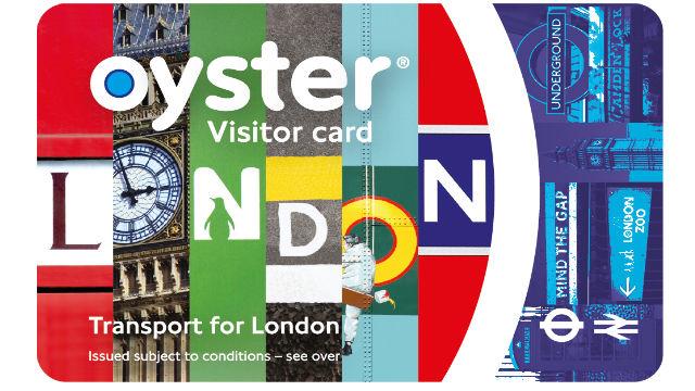 Ecco la visitor oyster card in foto
