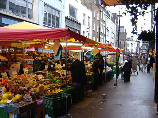 mercati street food londra
