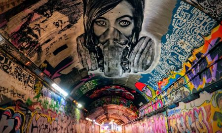 street art londra 2018