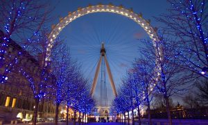 London Eye a South Bank
