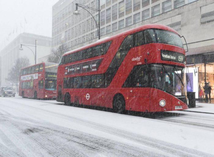 clima di Londra