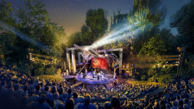 Regent's Park Open Air Theatre: programma