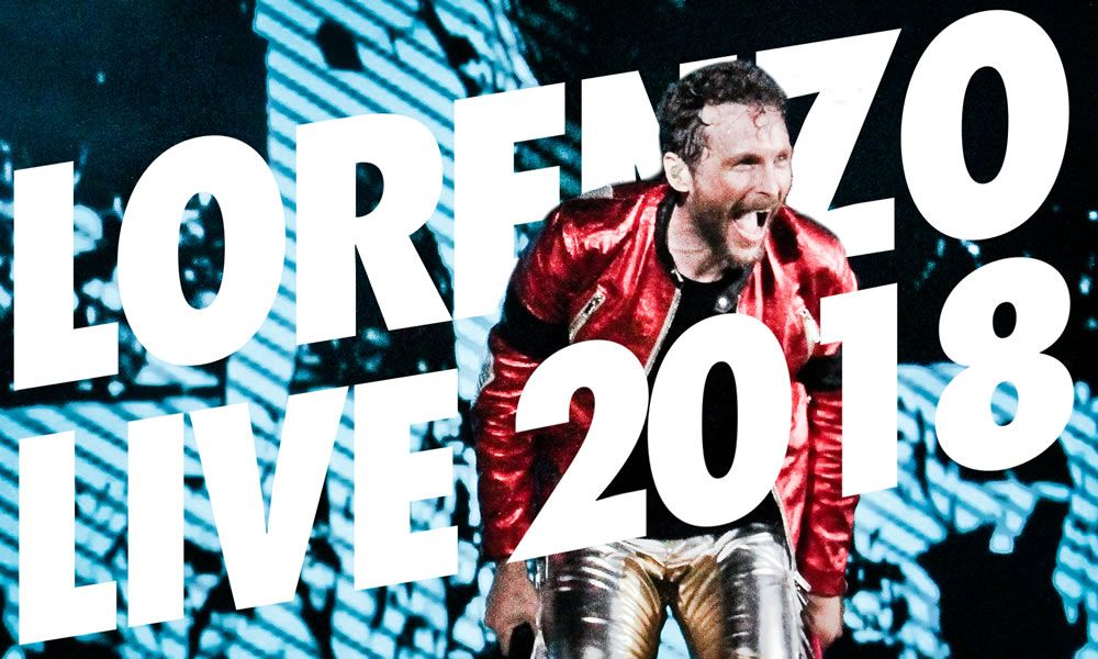 Jovanotti Lorenzo Live 2018