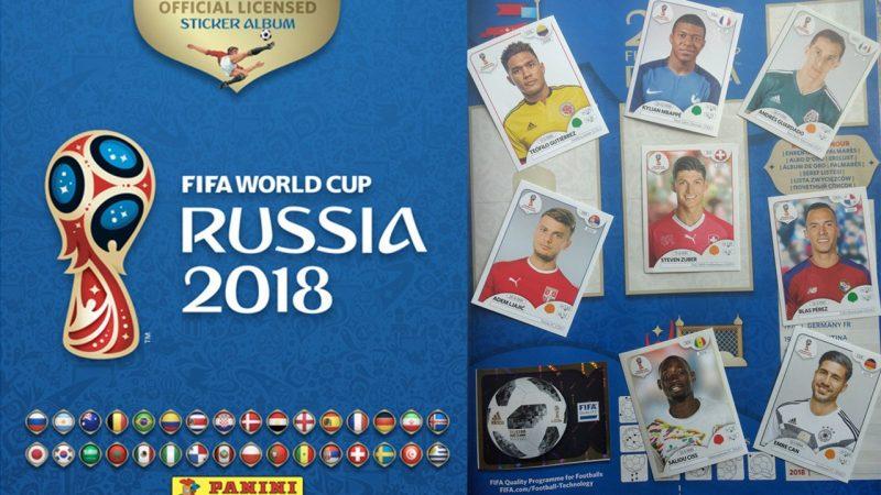 Mondiali Russia 2018 album