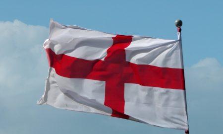 Bandiera di San Giorgio, diventata successivamente la bandiera inglese