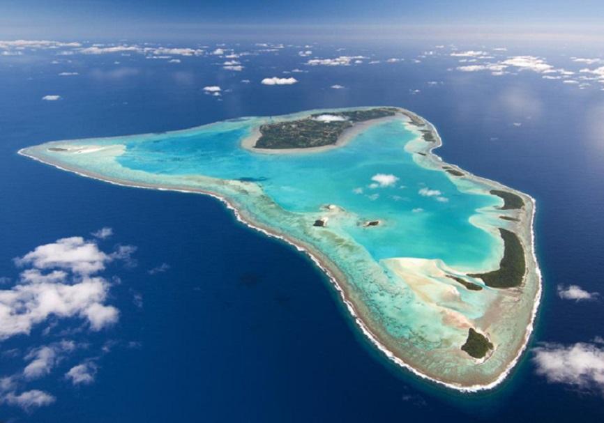 Isole Cook Aerea
