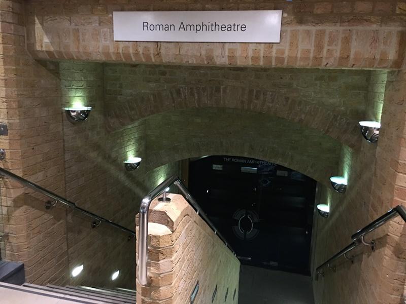 l'anfiteatro di Londra