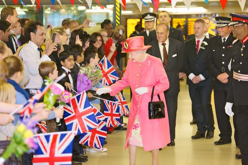 Elisabetta II- bandiere