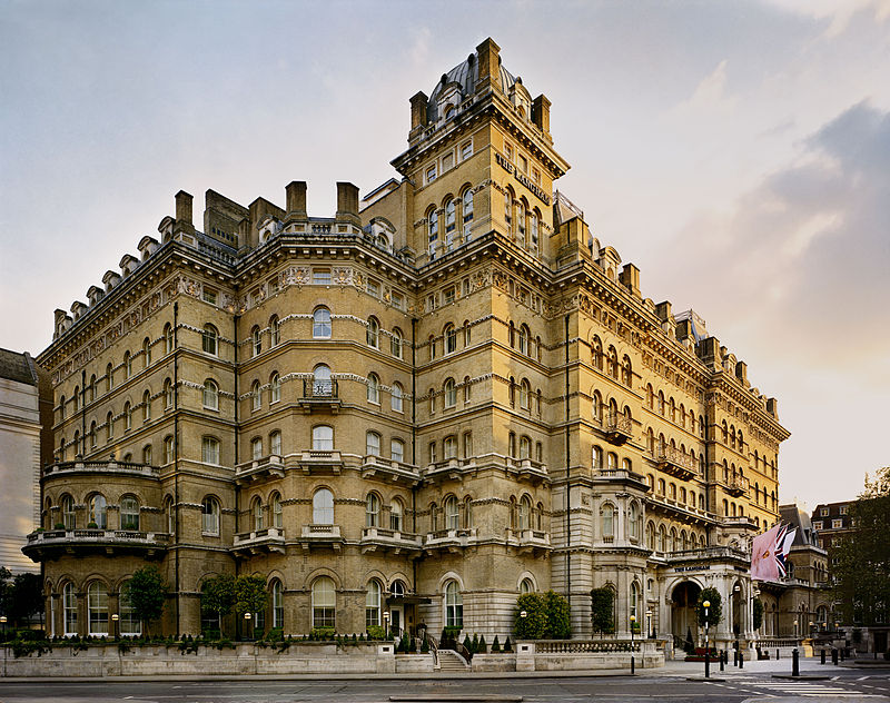 Langham Hotel - immagine del Langham Hotel, foto tratta da Wiki