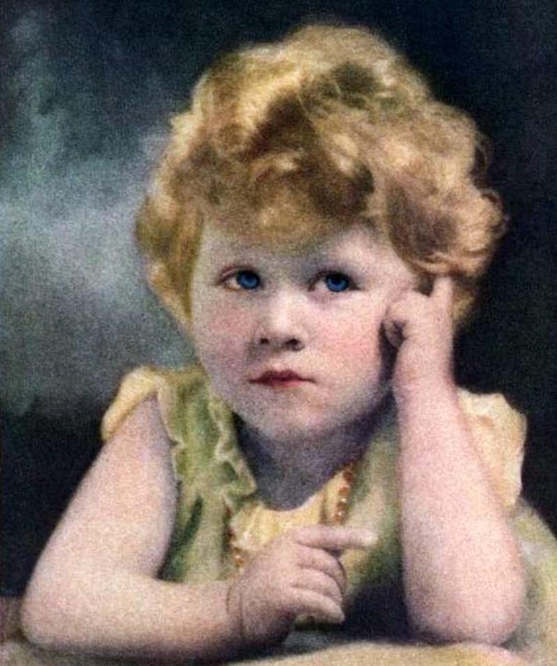 Elisabetta II- da bambina