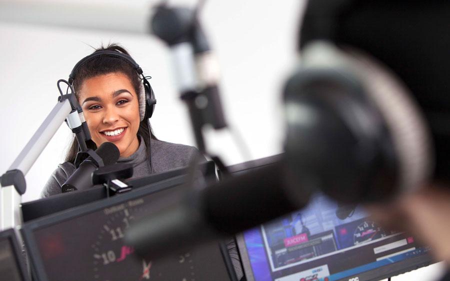 LondonOneRadio, gli studi radiofonici