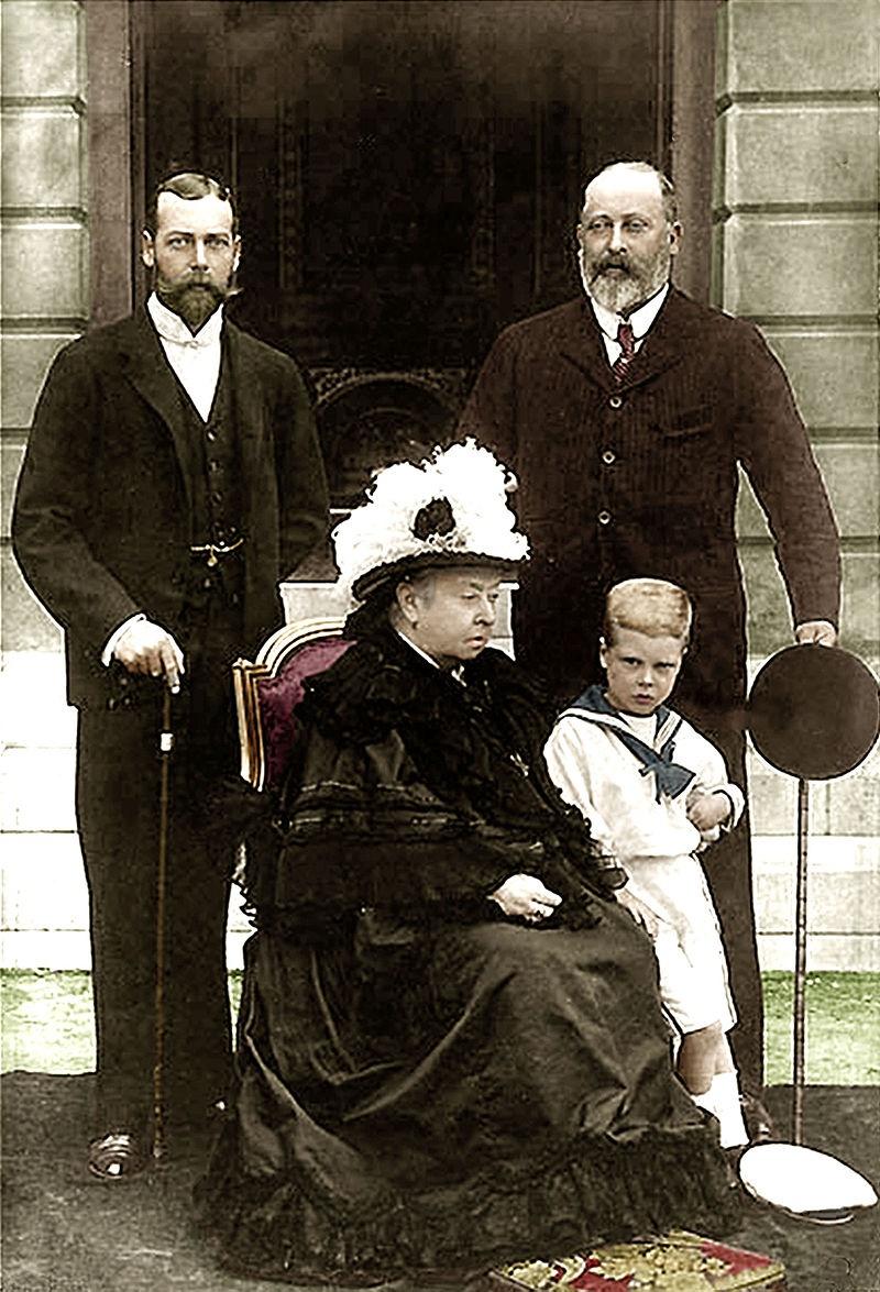 Royal Baby- foto della regina Vittoria