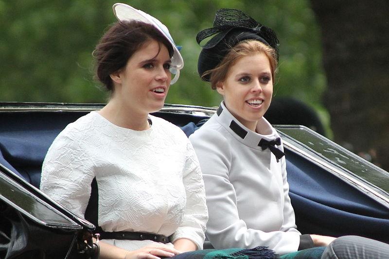Royal Baby- principesse Eugenia e Beatrice