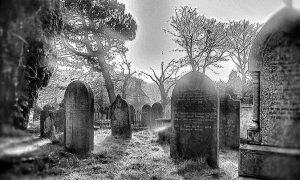 Vampiro Di Highgate - foto di un cimitero