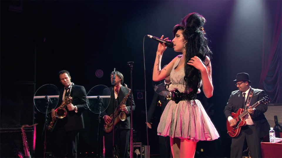 I luoghi di Amy Winehouse a Londra: Amy in concerto