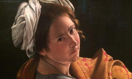 Artemisia Gentileschi, un autoritratto della pittrice