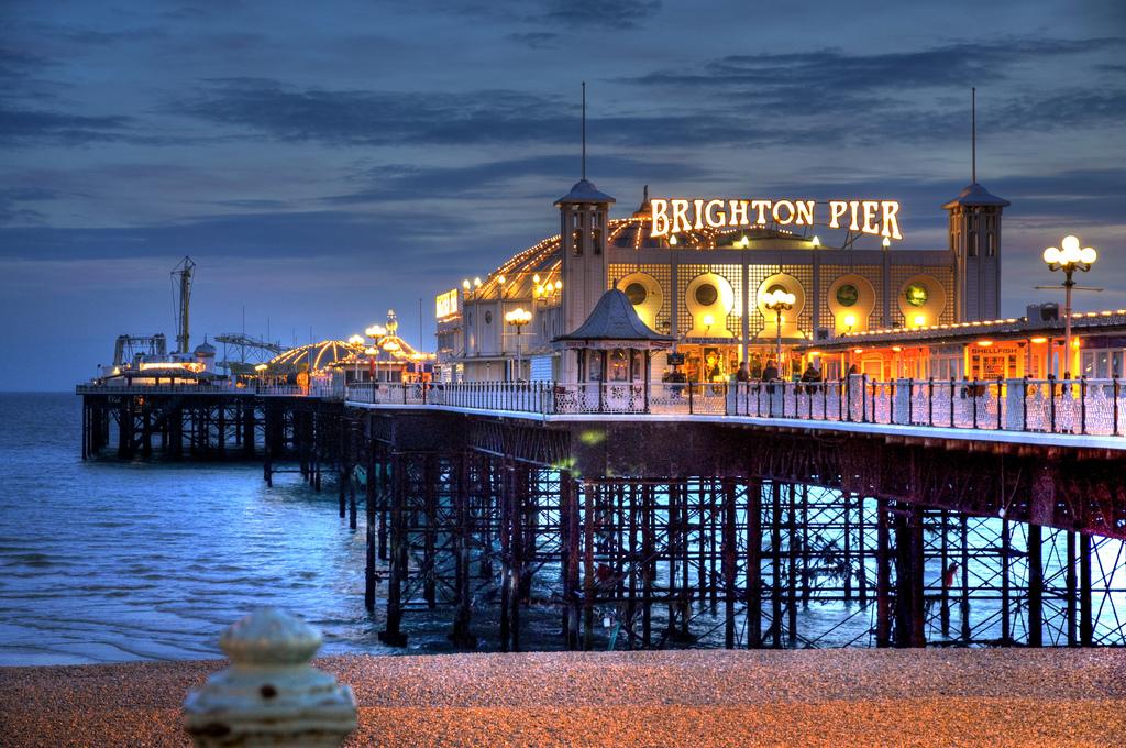 Da Londra a Brighton- Pier