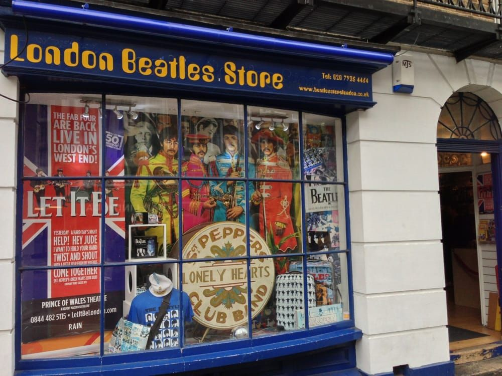 Londra e i Beatles. London Beatles Store