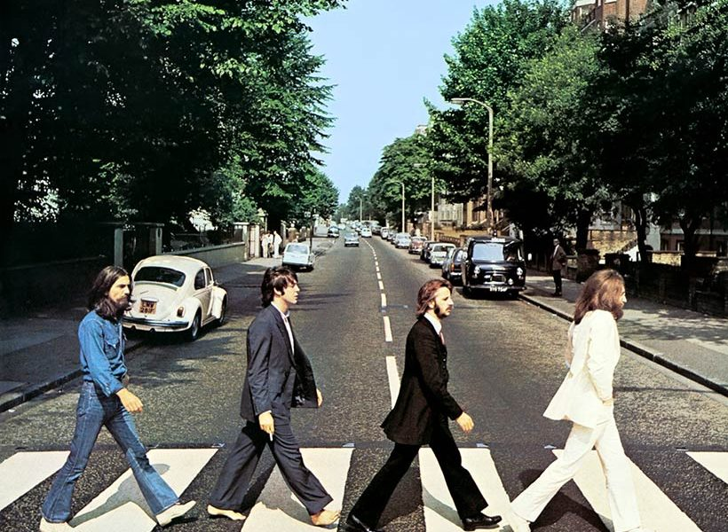 Londra e i Beatles. Immagine Abbey Road