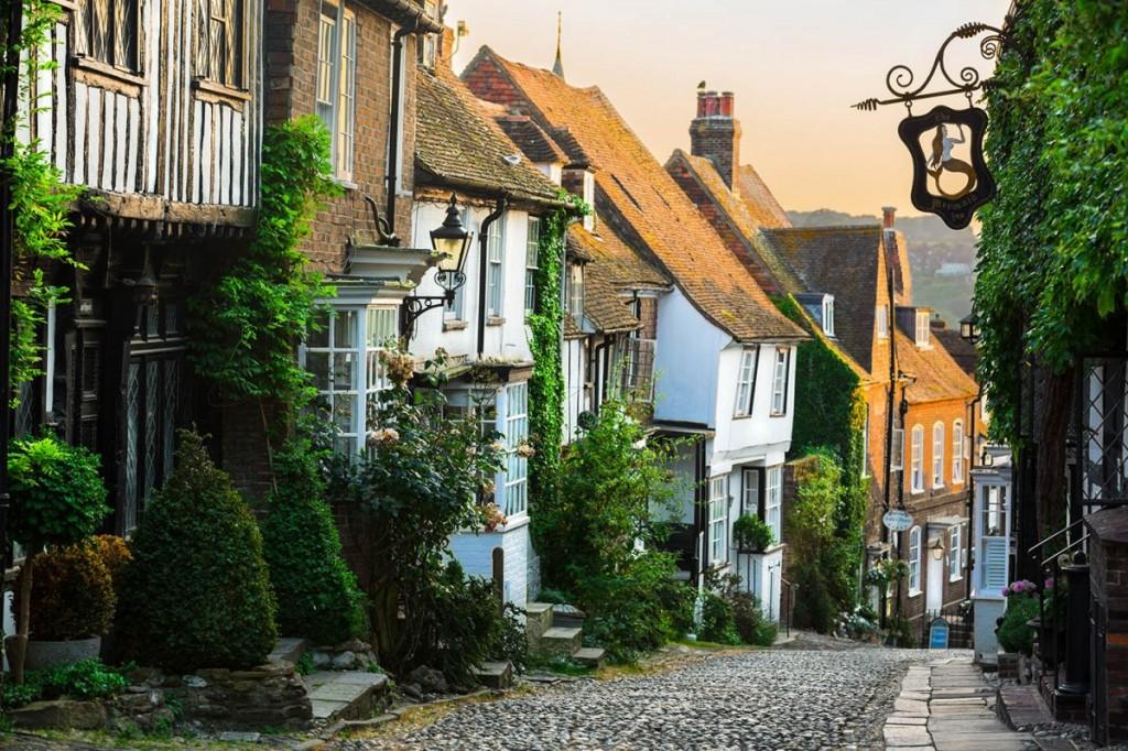 Visitare Rye. immagine del centro storico