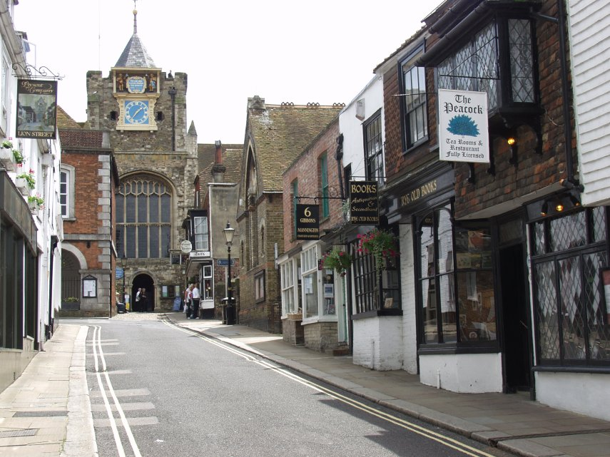 Visitare Rye. Immagine di St Mary S Church