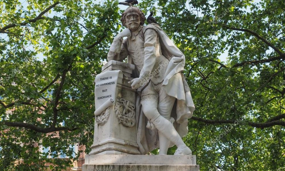 Statua Shakespeare A Londra