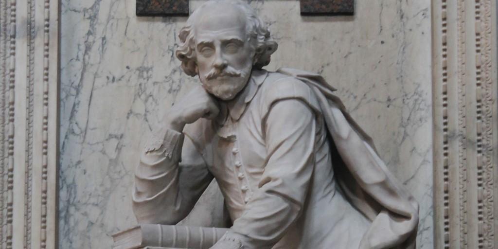 Statua Shakespeare A Londra. Immagine di Westminster