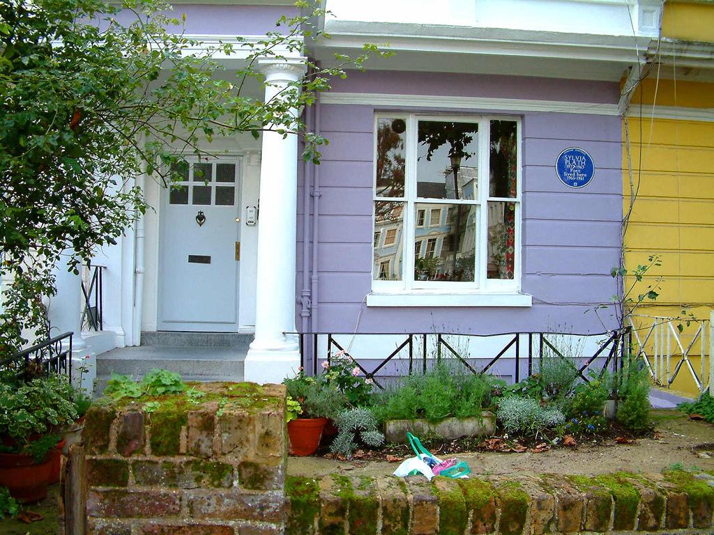 I luoghi di Sylvia Plath a Londra- Placca Blu