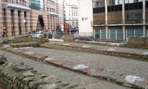 Londra, vista del tempio di Mitra