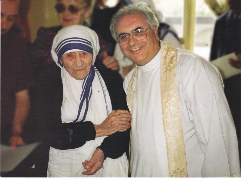 Padre Carmelo di Giovanni e Madre Teresa di Calcutta