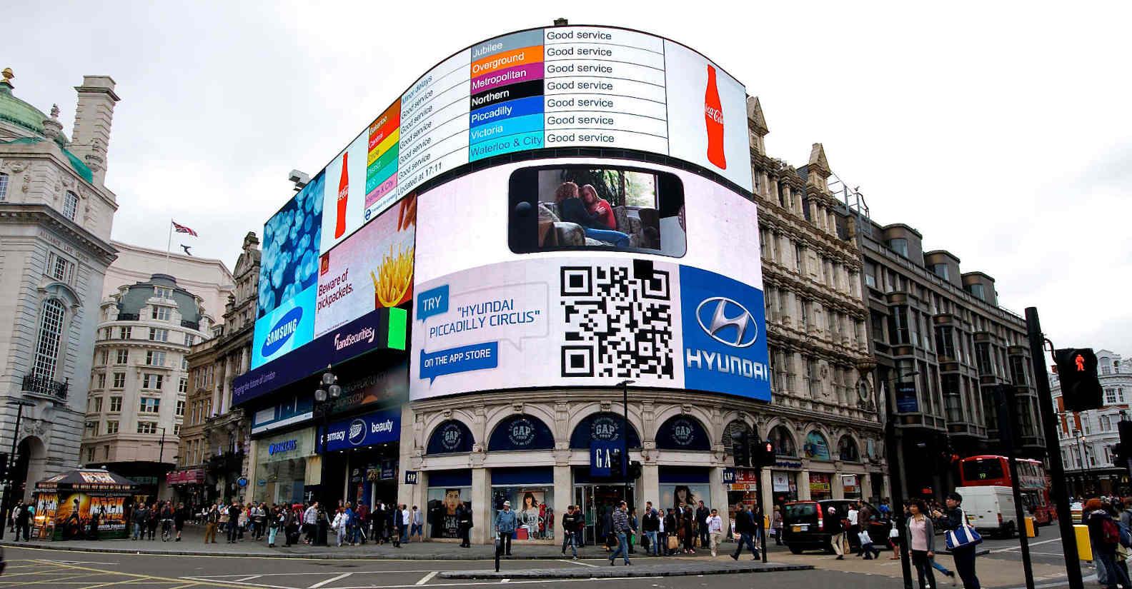 Le piazze più belle di Londra- Piccadilly Circus