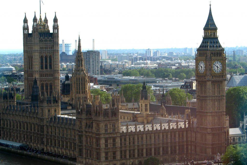 settled status- vista dell'abbazia di Westminster