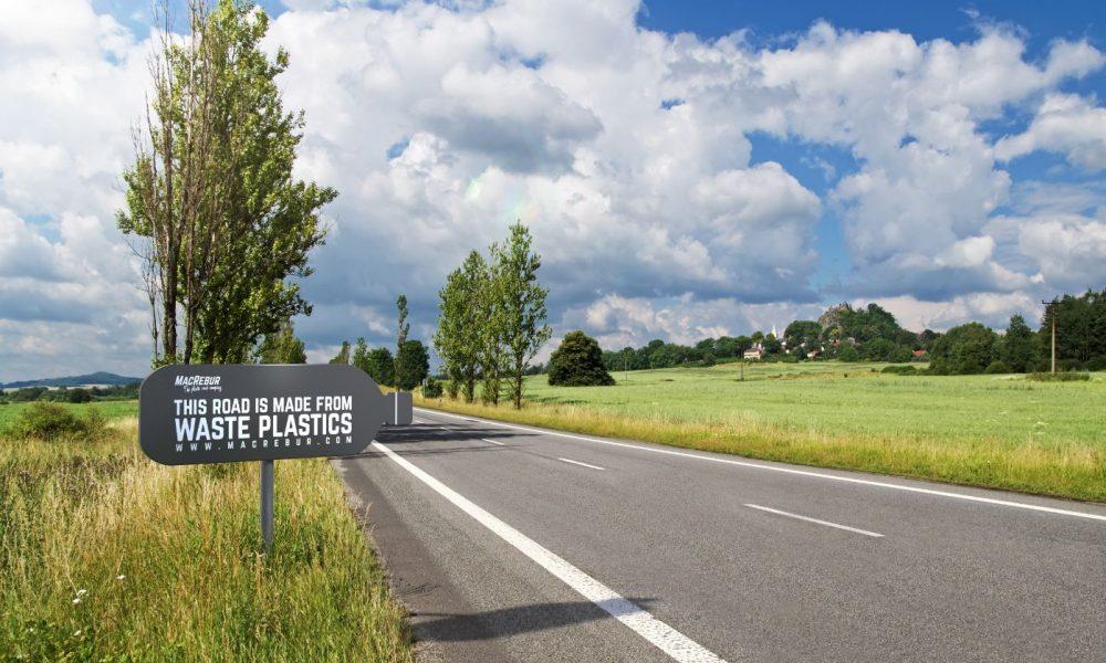 Asfalto con la plastica, la prima strada sperimentale in Cumbria