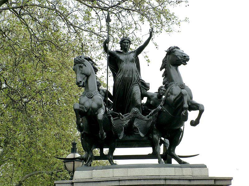 Il mistero della IX legione, La regina Boudicca ribelle regina degli Iceni