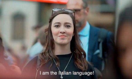 La Lingua Italiana- lo spot girato a Londra