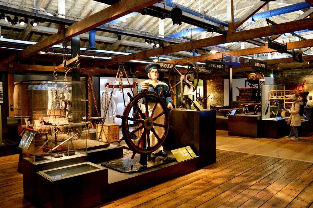 Museum of London Docklands, ricostruzione