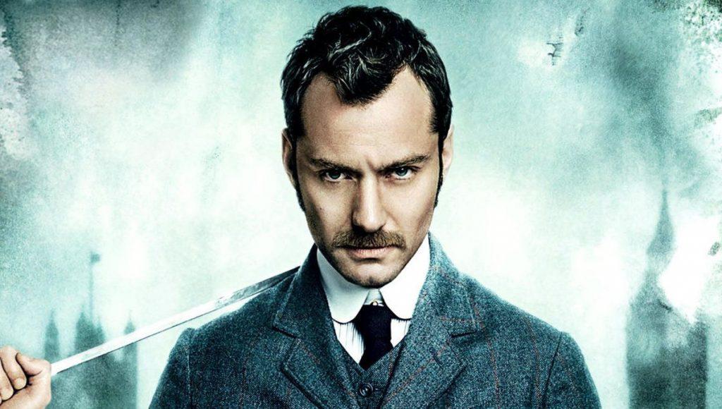 A spasso per LOndra con Sherlock Holmes Jude Law