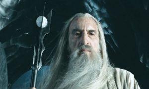 Christopher Lee - nel ruolo di Saruman