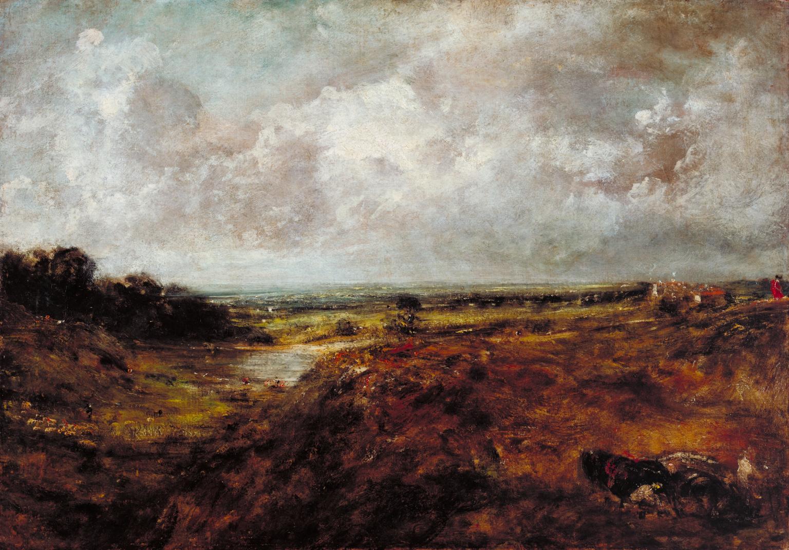 Hampstead Heath-Branch Hill Pond di Constable