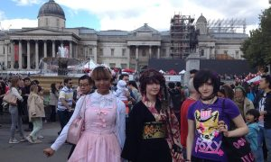 Cropped Trafalgar Square 19 September 2015 Japanese Event.jpg