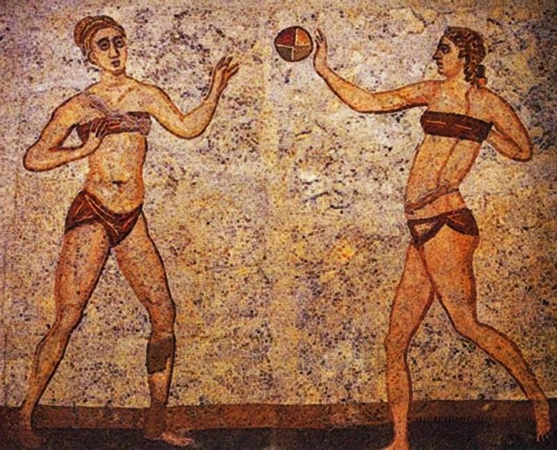 il calcio lo hanno inventato gli inglesi? - Mosaico romano